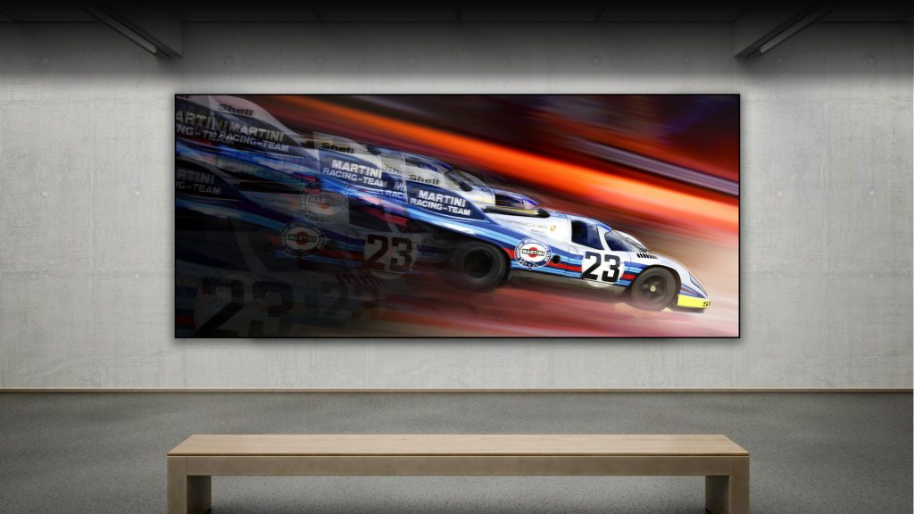 automotive art Porsche
