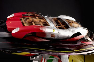 automotive sculpture ferrari