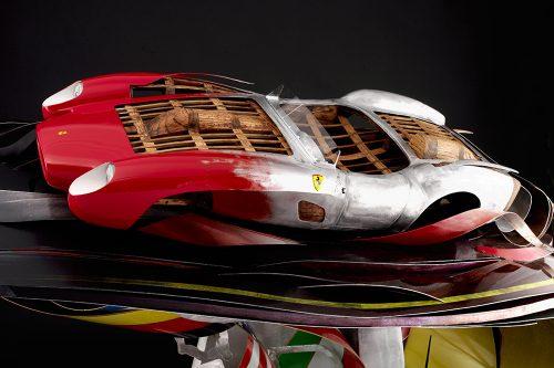 automotive sculpture ferrari